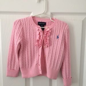 EUC like new Ralph Lauren sweater in pink 💕